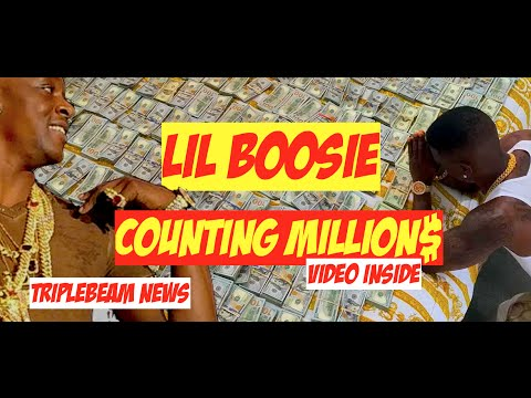 Lil Boosie counting Million Dollars Cash. He isnt Afraid to Show it (video)