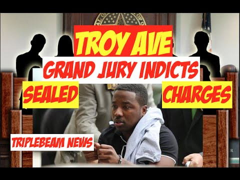 Troy Ave, Grand Jury Indicts on Sealed Charges