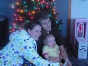 Josh, Alisa and Hayden Christmas