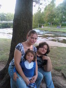 Dakoda, Tabitha and little Leandra