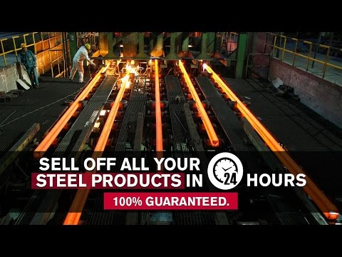 Sell Off All Your Steel Products in 24 hours or Less. 100% Guaranteed.