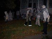 Halloween celebration dancers 09