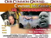 In Conversation with Cynthia McKinney l July 5