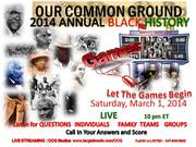 The Annual OCG  Black History Games