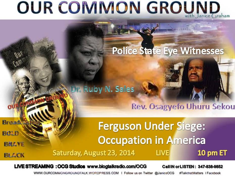 8-23-14 EyeWitnesses from Ferguson, MO