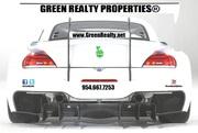 Green Realty Properties® Race Car :: Your Cooper City - Rock Creek, Embassy Lakes REALTORS®