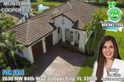 Monterra Cooper City Homes
