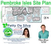 Pembroke Isles Site Plan | Pembroke Isles Community Map | Patty Da Silva Sells Pembroke Isles Homes