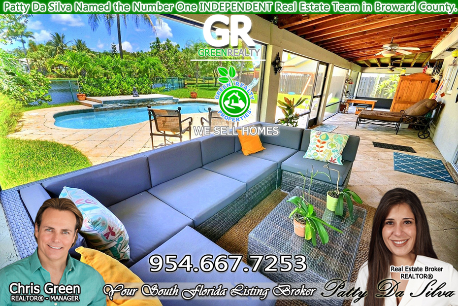 Patty Da Silva SELLS Plantation Homes | Plantation Real Estate | Top Plantation Realtors | 954-667-7253