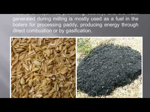 Value Added Products From Rice Husk or Rice Hull Ash