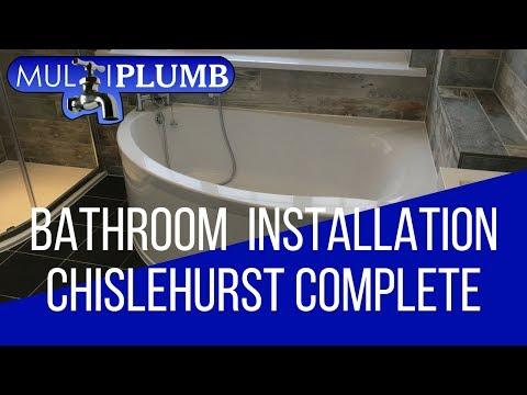 Chislehurst Bathroom Installation Complete | Bathroom Installation Chislehurst South East London