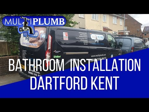 Dartford Bathroom Installation in Kent | MultiPlumb Bathrooms, Plumbing & Heating Installation