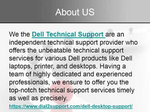 Solve All Dell Related Issue With Dell Support Number +1-888-989-8478