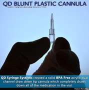 QD Blunt Plastic Cannula - Low Dead Space Cannula