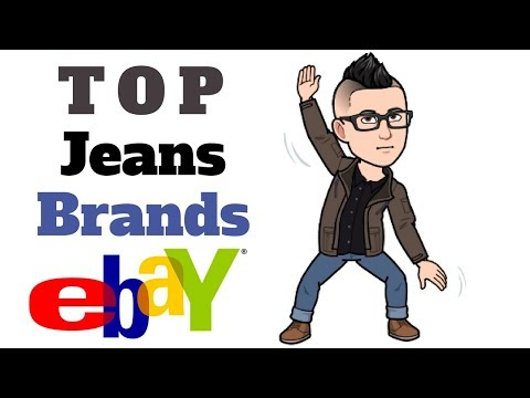 $$ Top Jeans Brands for eBay Resale $$