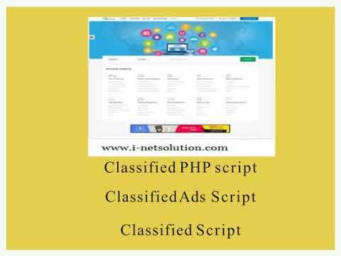 Classified Script – Classified PHP script   Classified Ads Script