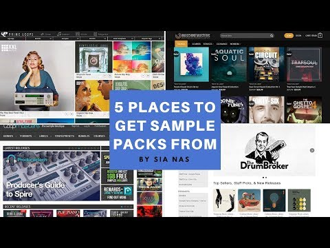 5 Best Places to Get Free & Paid Sample Packs From