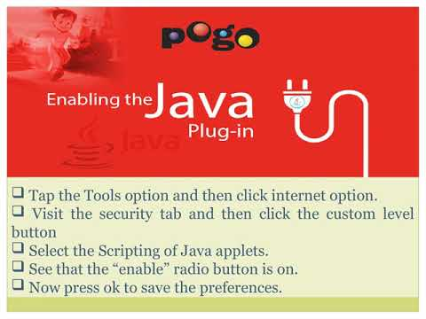How to Fix Java or Flash Problems in Pogo games