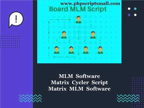 MLM Software, Matrix Cycler Script, Matrix MLM Software