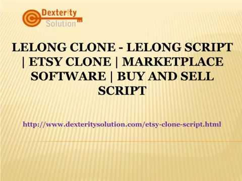 Lelong Clone - Lelong Script | Etsy clone | Marketplace software | Buy and Sell Script
