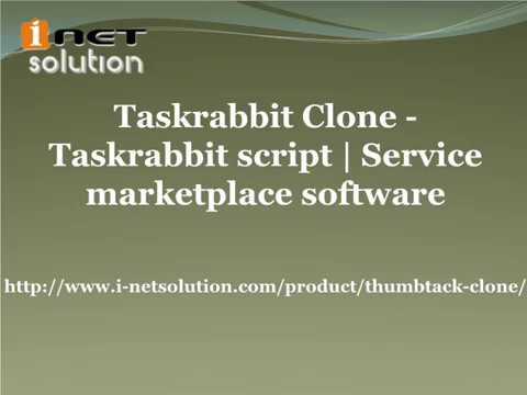 Taskrabbit Clone | Service marketplace software
