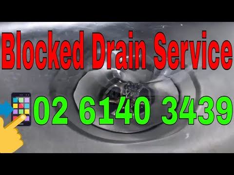 Blocked Drain Canberra | Call 02 6140 3439