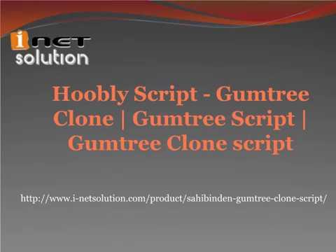 Hoobly Script - Gumtree Clone   Gumtree Script   Gumtree Clone script