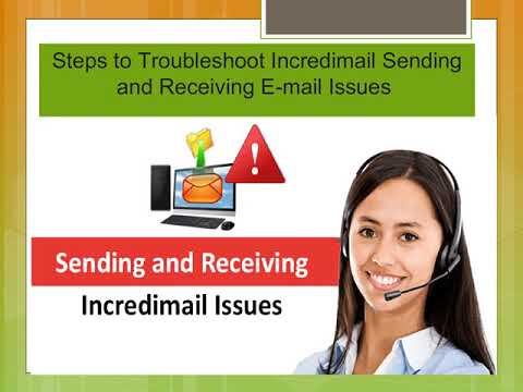 4 Simple Steps to Fix Incredimail Sending and Receiving E-mail Issues