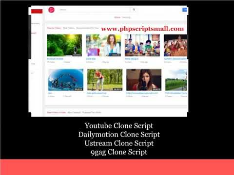 Youtube Clone Script (Updated On 2018)