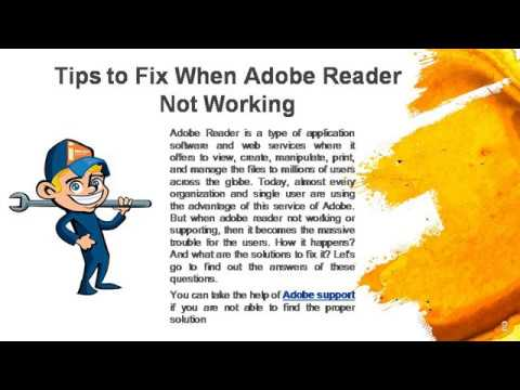 How To Fix When Adobe Reader Not Working