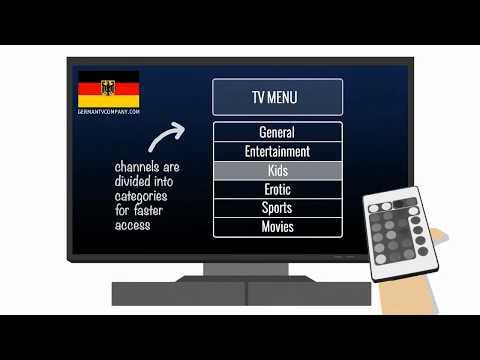 Deutsches Fernsehen: Wie man über 90 TV-Kanäle in hoher Qualität sieht