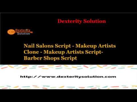 Nail Salons Script - Makeup Artists Clone - Makeup Artists Scrip - Barber Shops Script