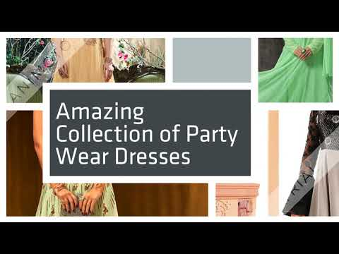 Latest Designs of Party Wear Gowns