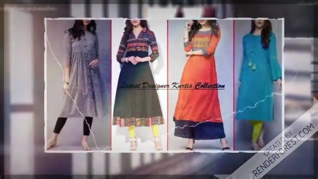 Latest Designer Kurtis Pattern 2018