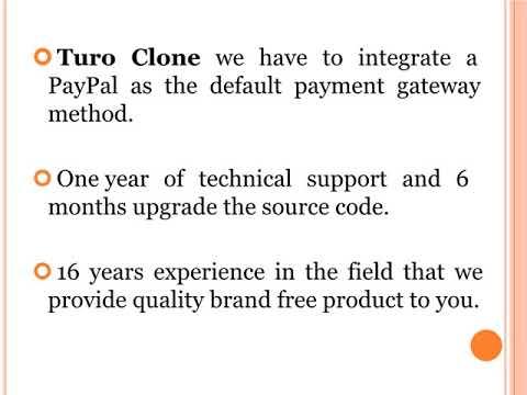 Budget Clone, Budget Script, Didi Clone, Turo Clone
