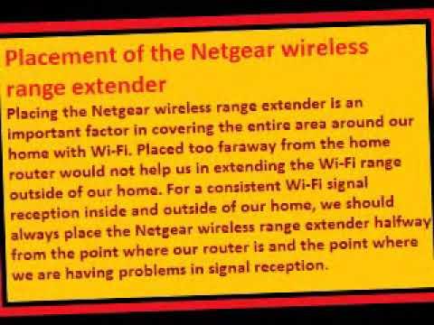 The model of the Netgear wireless range extender