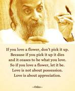 LOVE IS ABOUT POSSESSION.