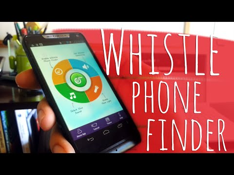 Find Your Misplaced Phone With Just A Whistle - Whistle Phone Finder