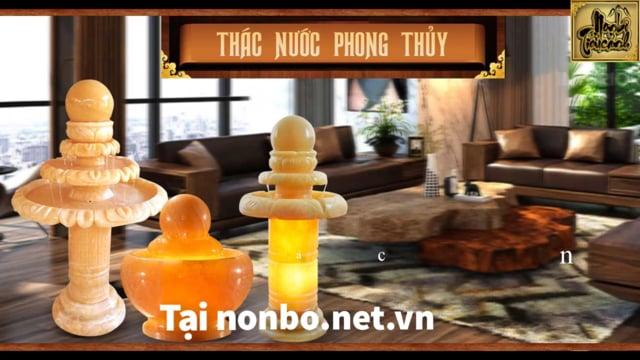 Mẫu THÁC NƯỚC PHONG THỦY nổi tiếng nhất hiện nay