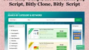 PHP Bitly  Script - url Shortener php Script - Bitly Clone - Bitly  Script