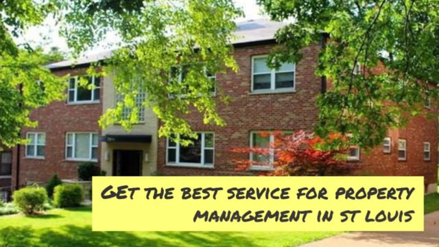 Property Management Company In St. Louis