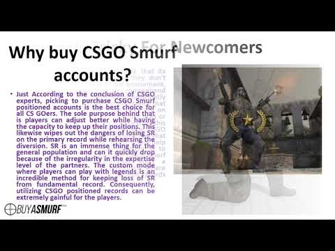 Buy CSGO Smurf Accounts to Become a Top Ranked Player