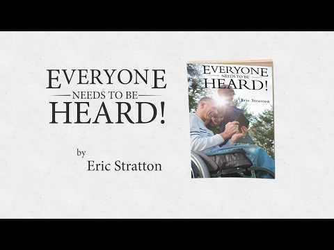 EVERYONE NEEDS TO BE HEARD BOOK TRAILER