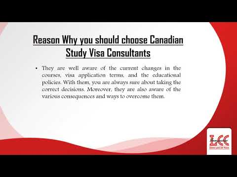 Avail the Benefits of hiring Canadian Study Visa Consultants