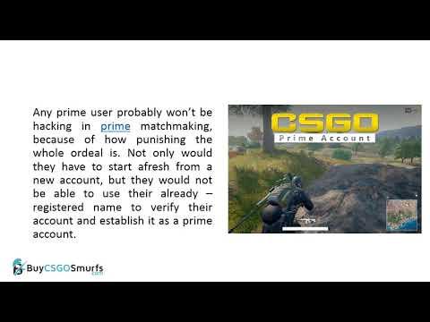 Buy CSGO Prime Accounts at very low price