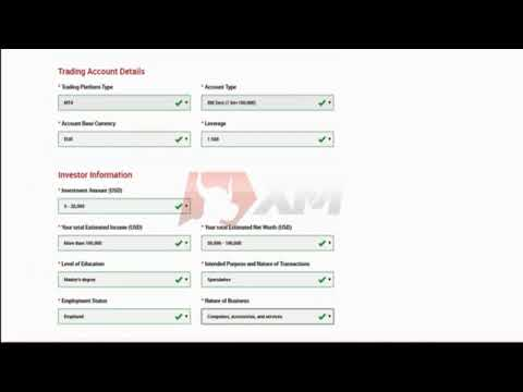 Learn how to open a real account with XM
