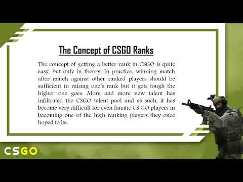 How to Get Better CSGO Ranks?