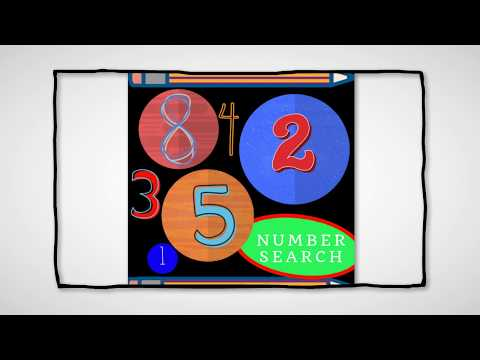 Free Number Search Game App. Now available on Google Play. Fun and addictive!