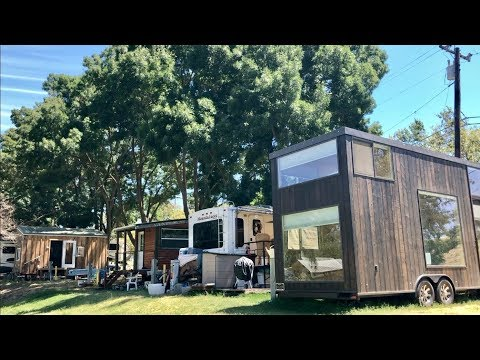 RV parks ease to tiny homes amid CA housing crisis & fires