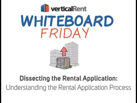 Understanding the Rental Application for Landlords and Property Managers